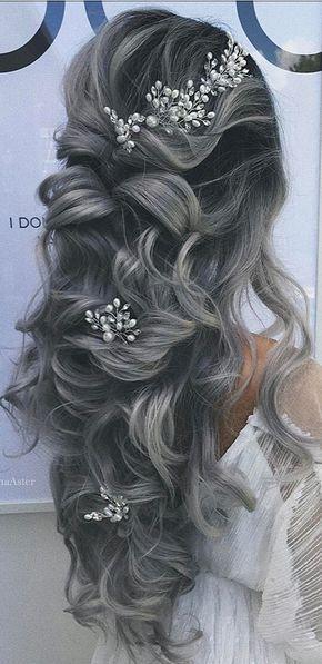 48 Le nostre acconciature da sposa preferite per capelli lunghi – Sito oggi