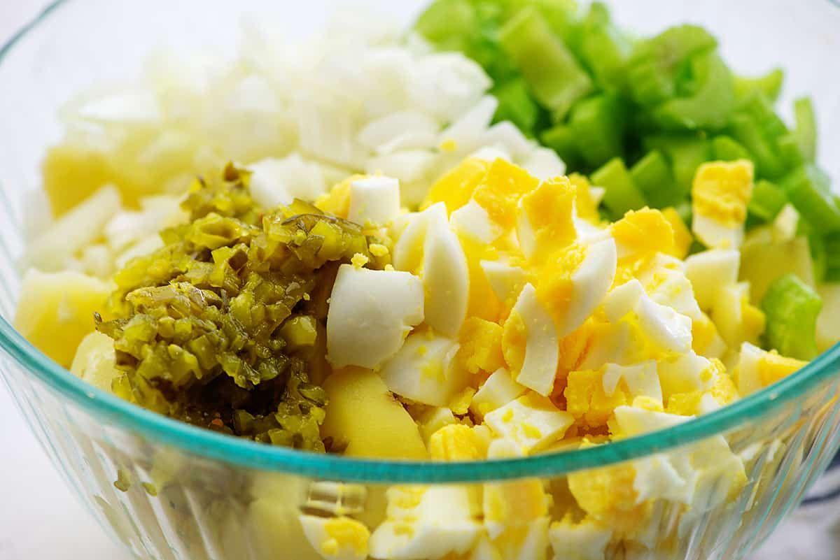 Recipe For Amish Potato Salad