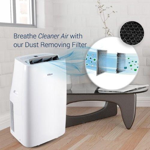 DELLA 14,000 BTU Portable Air Conditioner Cooling Fan ...