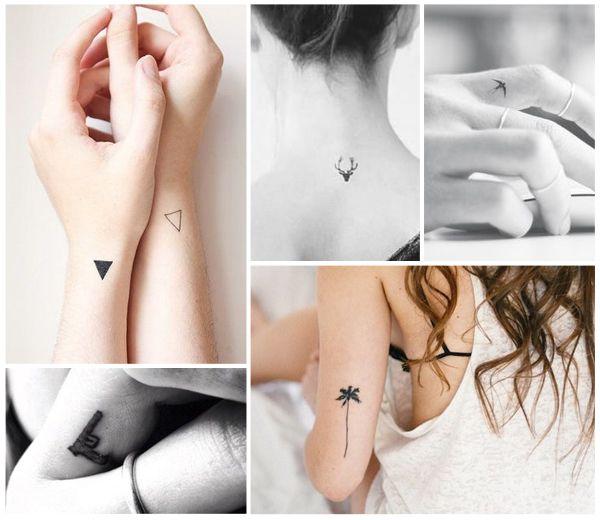 mini tatouages : 30 motifs qui nous font très envie | tatouage