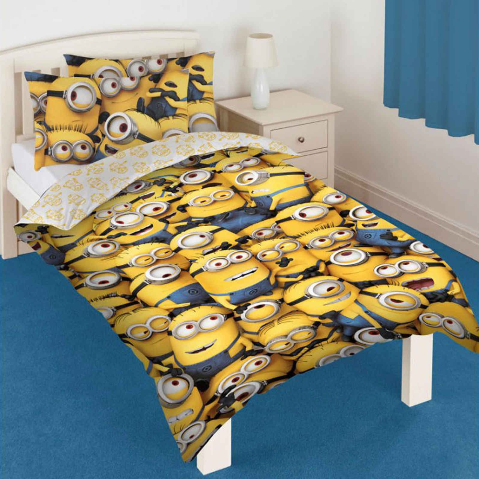 if you like frozen avengers spiderman despicable me minions or spongebob you will love one of these character themed official duvet cover set ebay - Spongebob Bedroom Set