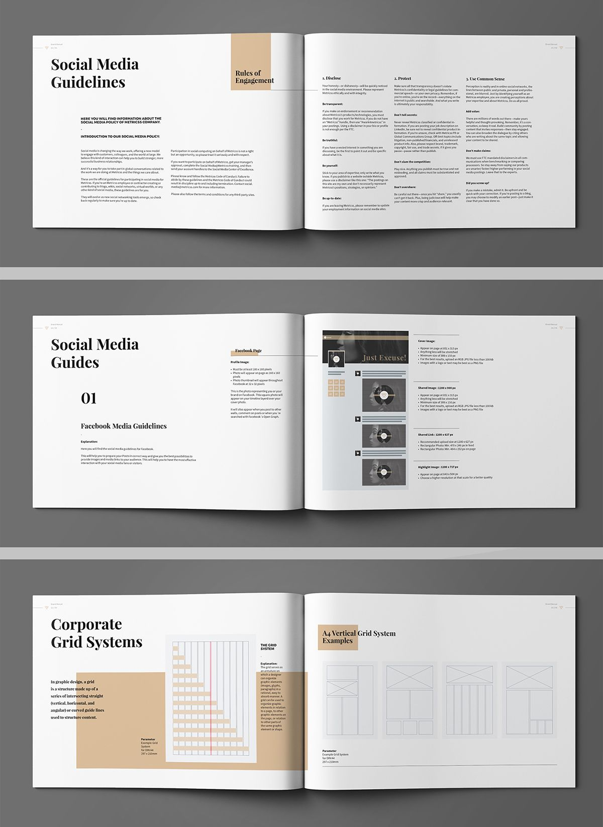 Brand Manual on Behance | VI Merchandises | Pinterest