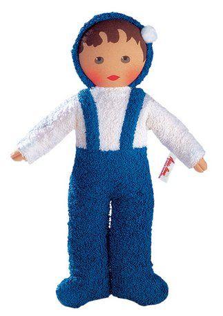 puppe k the kruse frottee baby blau wei im online shop von baur versand n hen. Black Bedroom Furniture Sets. Home Design Ideas