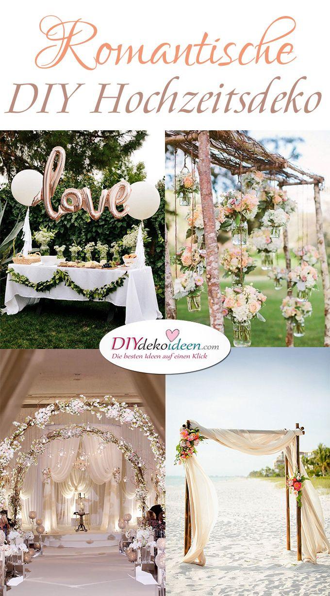 Romantische Diy Hochzeitsdekoration Zum Selbermachen Erledigt