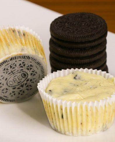 Easy Mini Cheesecake Cupcakes Recipe - Chef Savvy