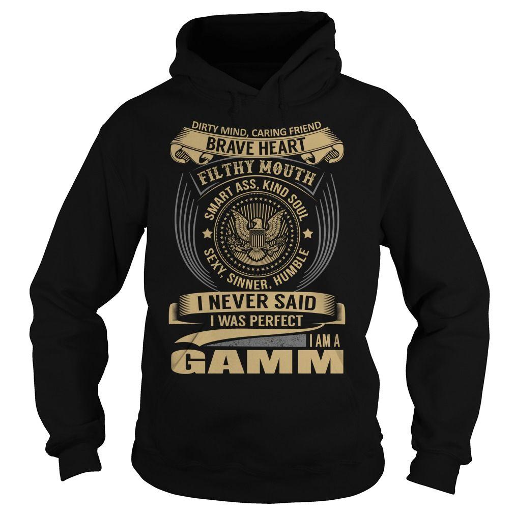 GAMM Last Name, Surname T-Shirt