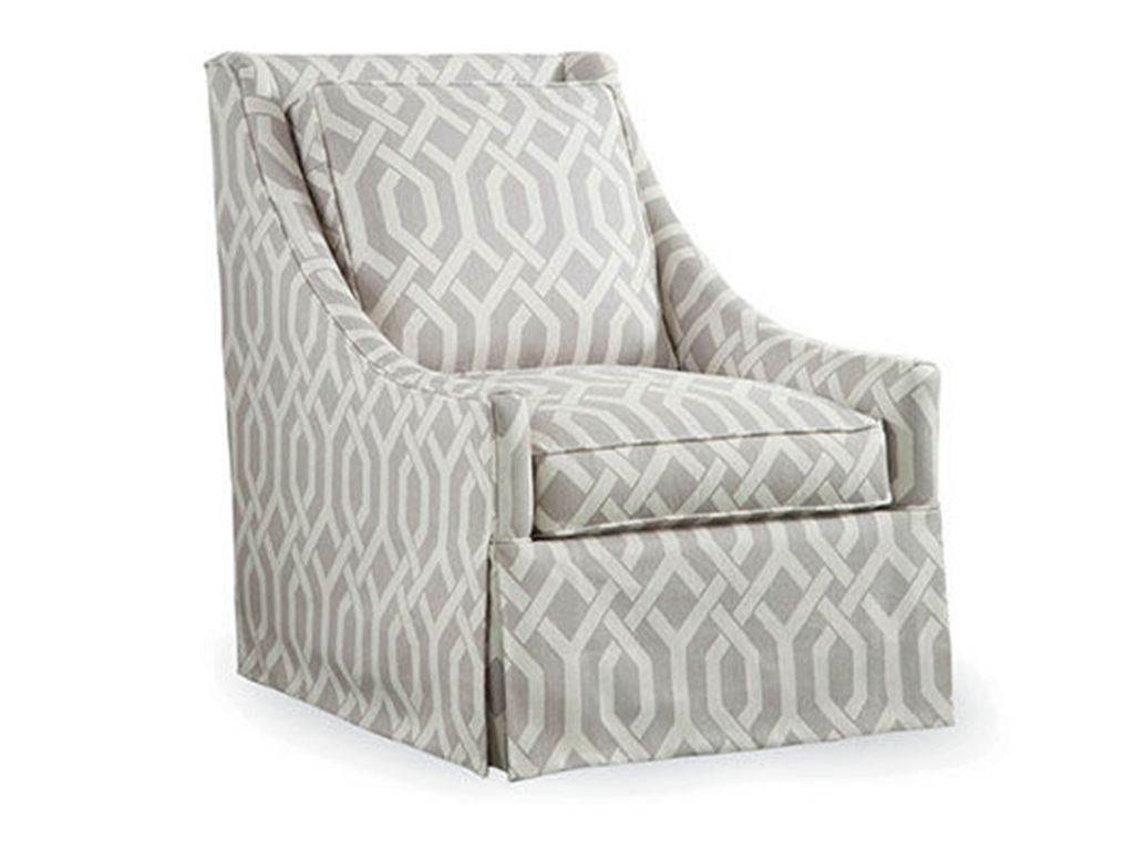 Braxton Culler Living Room Osborne Swivel Chair 5602 005   Elite Interiors    Myrtle Beach