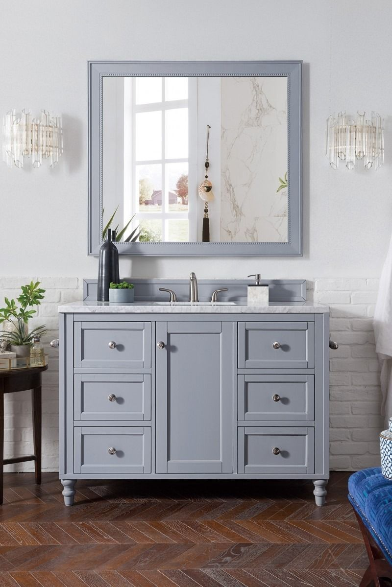 finish vanities martin monte cabinet vanity style carlo pin old sink gray empire bathroom interiordesign single james luxurydesign world
