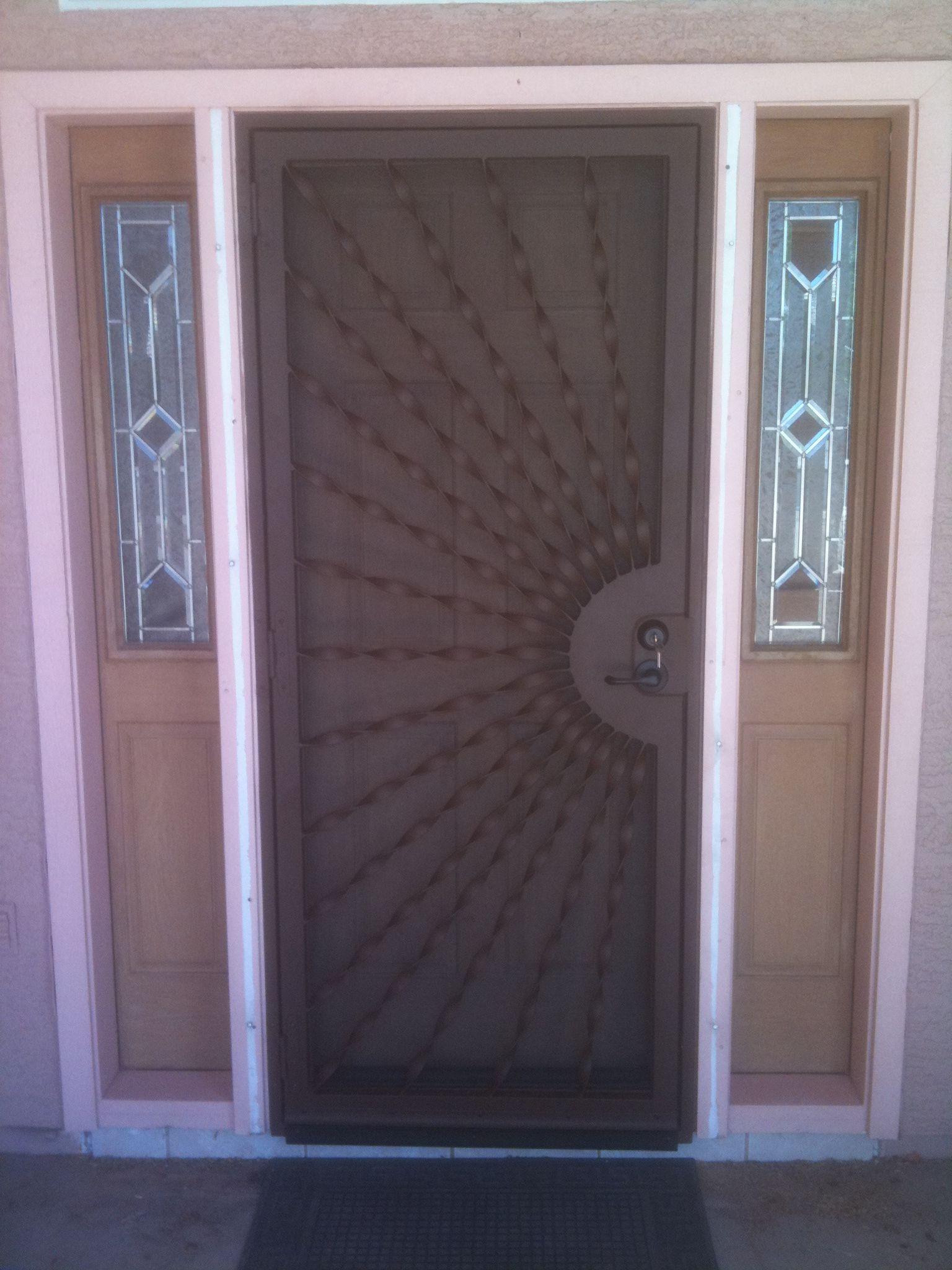 Decorative Security Screen Doors dcs industries, custom door, security doors, custom security doors