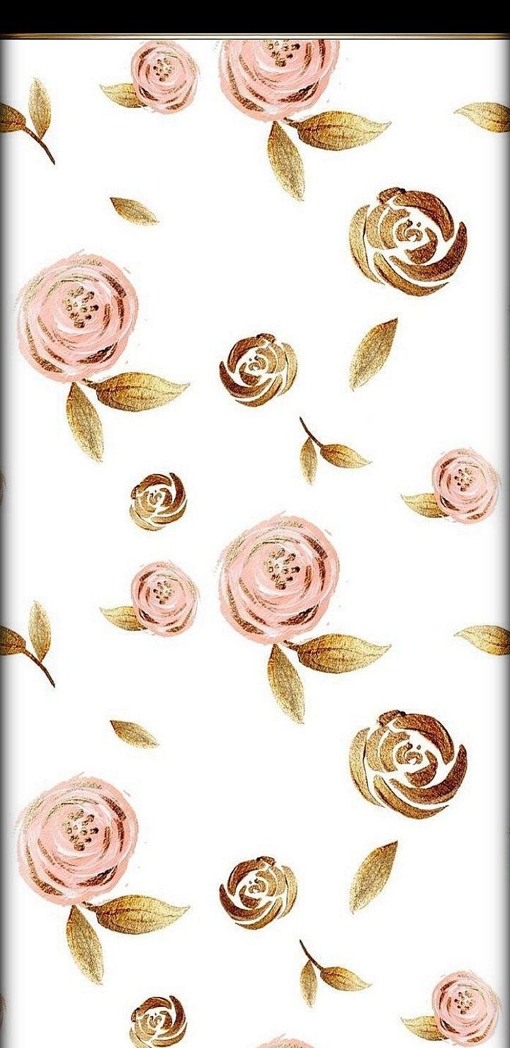 Rose Gold Wallpaper Rose Gold Wallpaper Gold Wallpaper Paper Roses