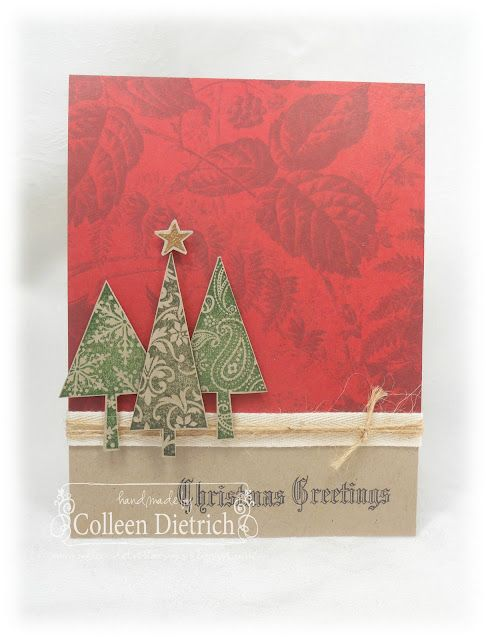 Paper Craft Christmas Card Ideas Part - 46: Christmas Card, Published In Card Ideas For Paper Crafters/Paper Crafts  Mag. Stampin
