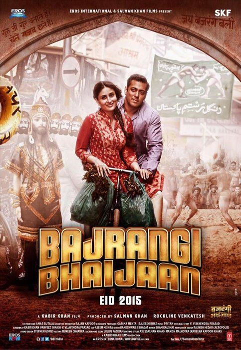 New Poster Of Bajrangi Bhaijaan Best Bollywood Movies Full Movies Online Free Full Movies