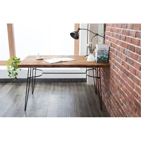 Rustic Reclaimed Wood Writing Desk And Dining Table