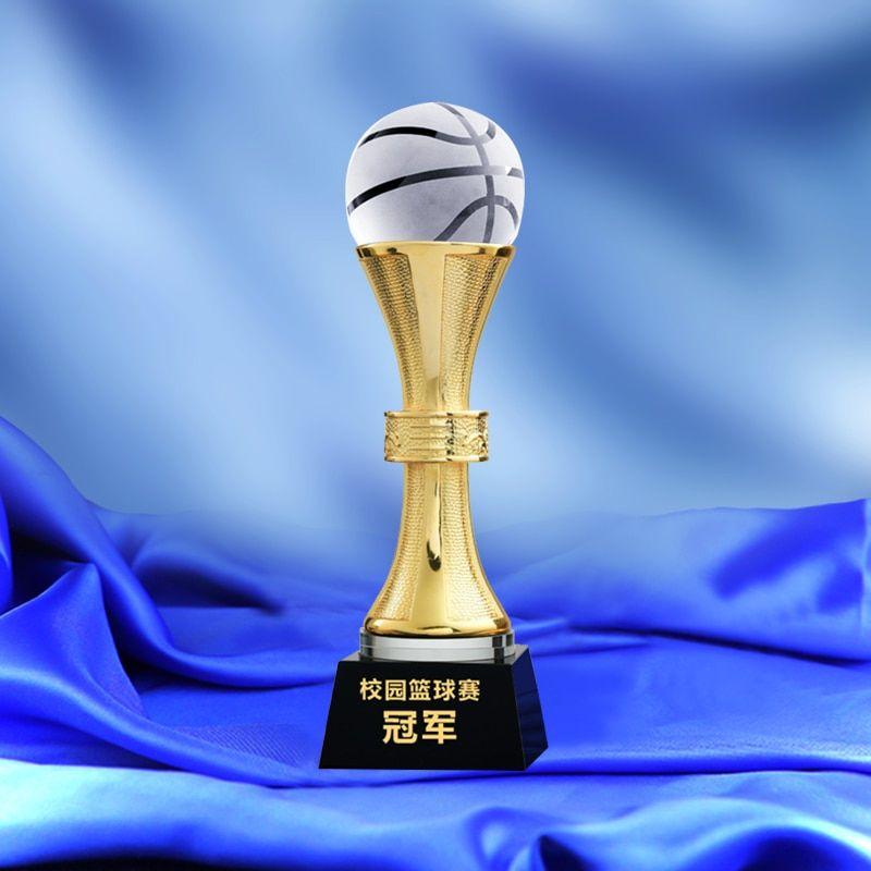 Find More Sports Souvenirs Information About Metal Trophy With A Crystal Basketball Nba Trophy Champion Award Cup Basketball Game Basketbol Chempion Razvlecheniya