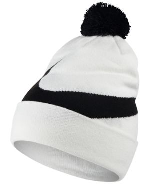 check out 743ae 8b9ed NIKE MEN S EXPLODED SWOOSH POM POM BEANIE.  nike