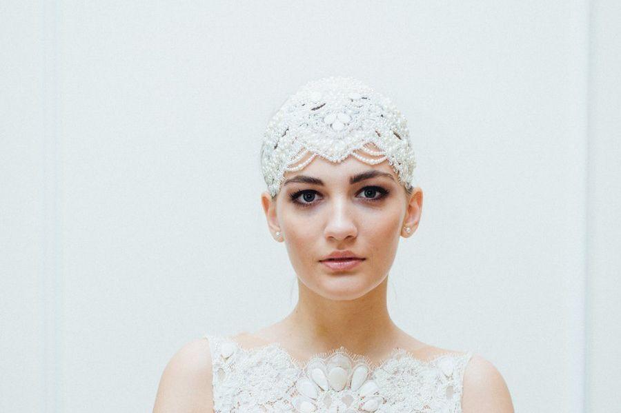 Couture Fur Den Kopf Haarschmuck Von Niely Hotsch Aus Wien Brautfrisur Braut Hochzeit