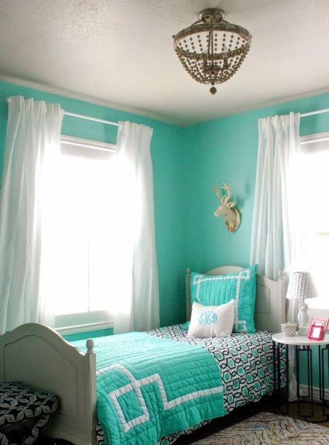 Urquoise Bedrooms, Teal Teen Bedrooms, Teen Bedroom Ideas For Girls Teal,  Turquoise Bedroom