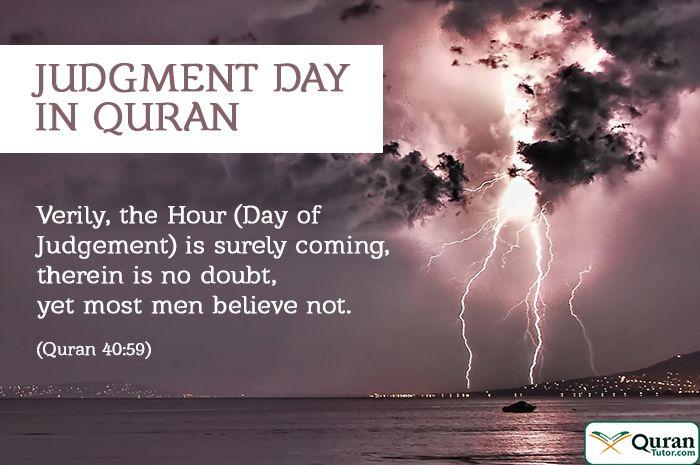 Judgment day Quran recitation, Quran, Day of judgement islam