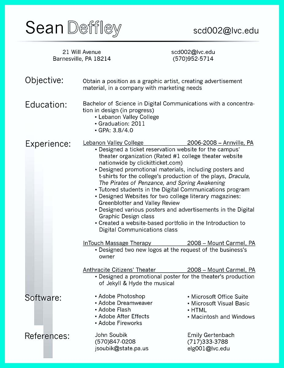 cool The Best Computer Science Resume Sample Collection
