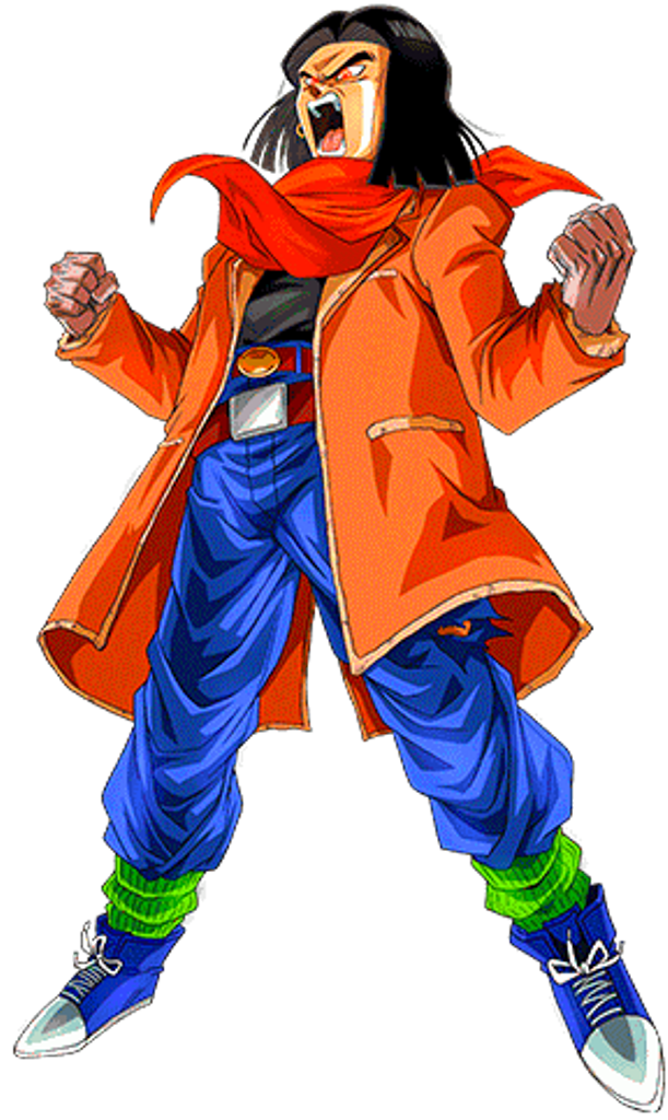Android 17 Lapis Gt 2 By Alexelz On Deviantart Anime Dragon Ball Super Dragon Ball Art Dragon Ball Gt