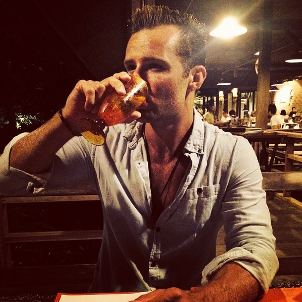 """#juddymcfly """"Downing sparkling water on #holiday like the #lad that I am."""""""