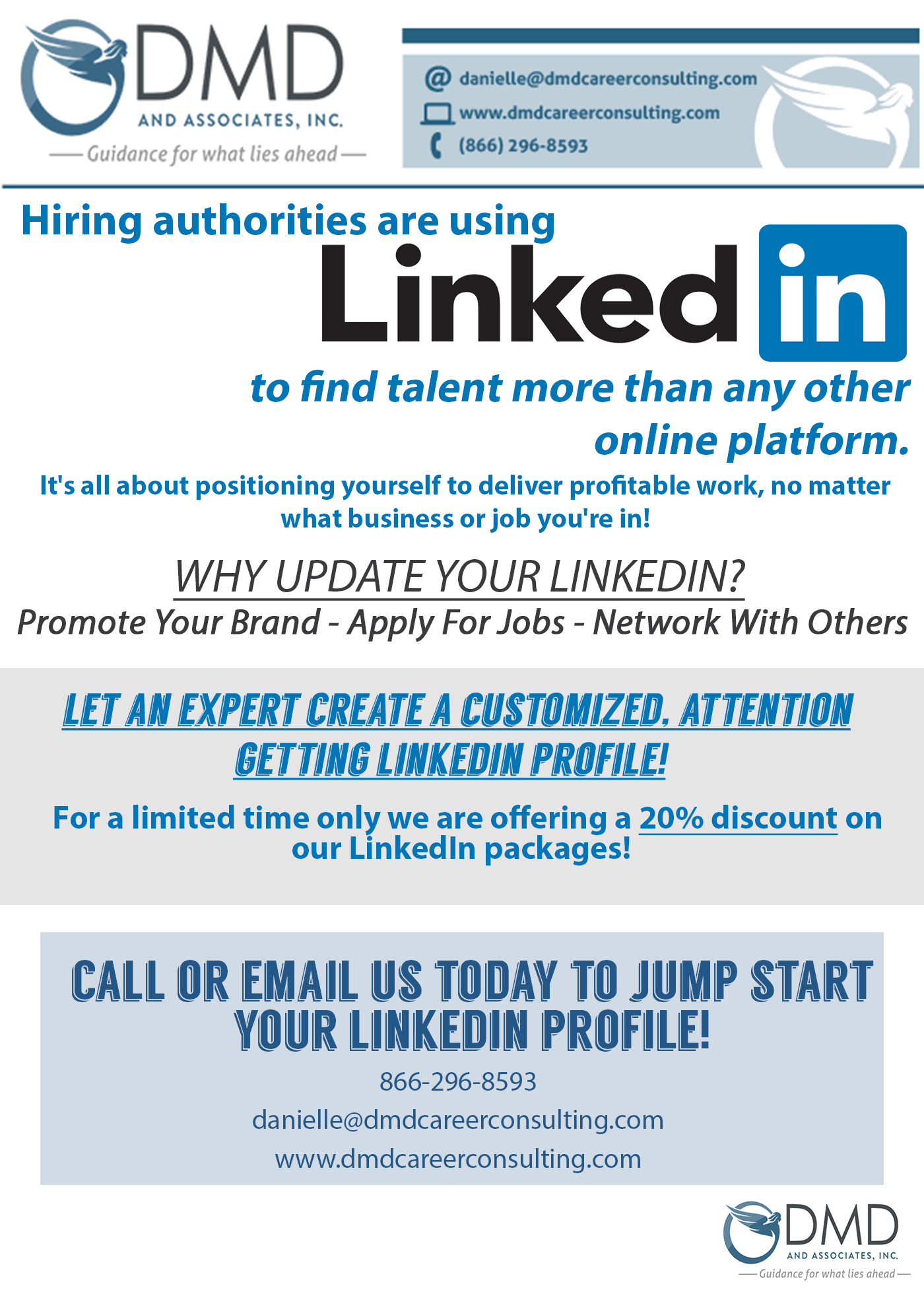 Linked In, Career coaching, hiring, services, resume, Blog. - DMD ...