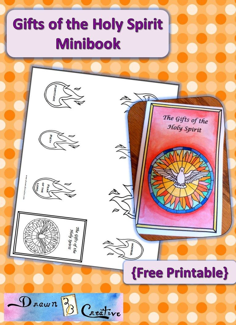 Holy Spirit Gifts Mini book