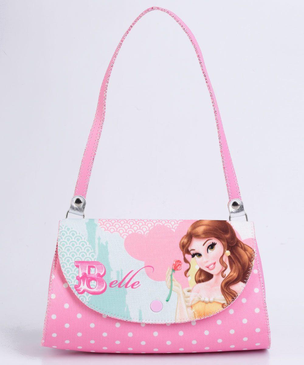 8113e0e92 Image_Bolsa Infantil Princesa Bella Disney   Bolsinhas   Bags e ...