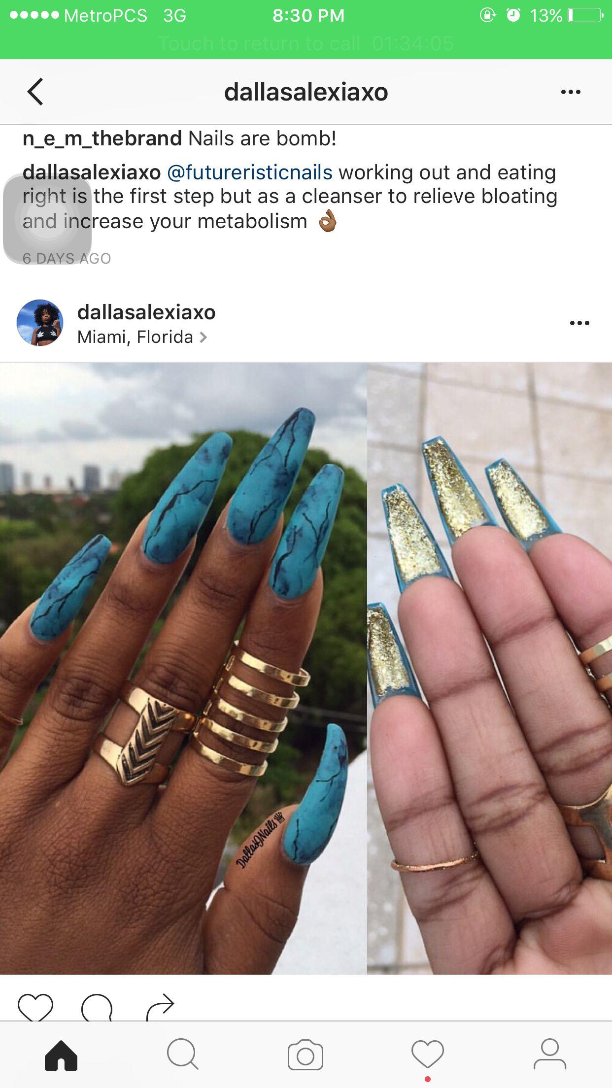 Like what you see⁉ Follow me on Pinterest ❣ : @NisforNaja | Nails ...