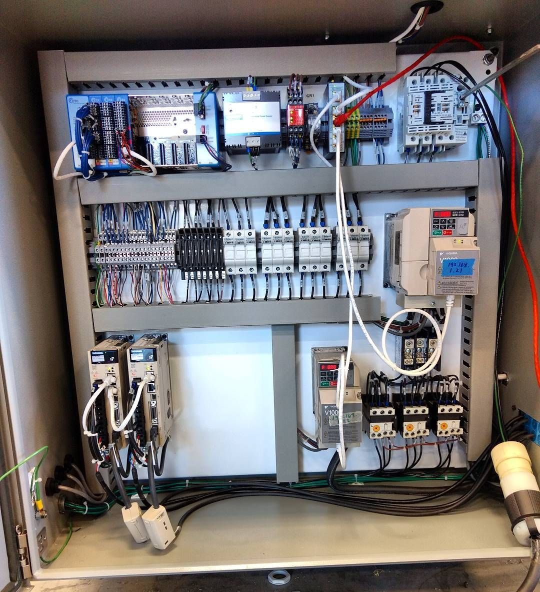 Another meticulously built control system! . . #goteam #goindustry ...