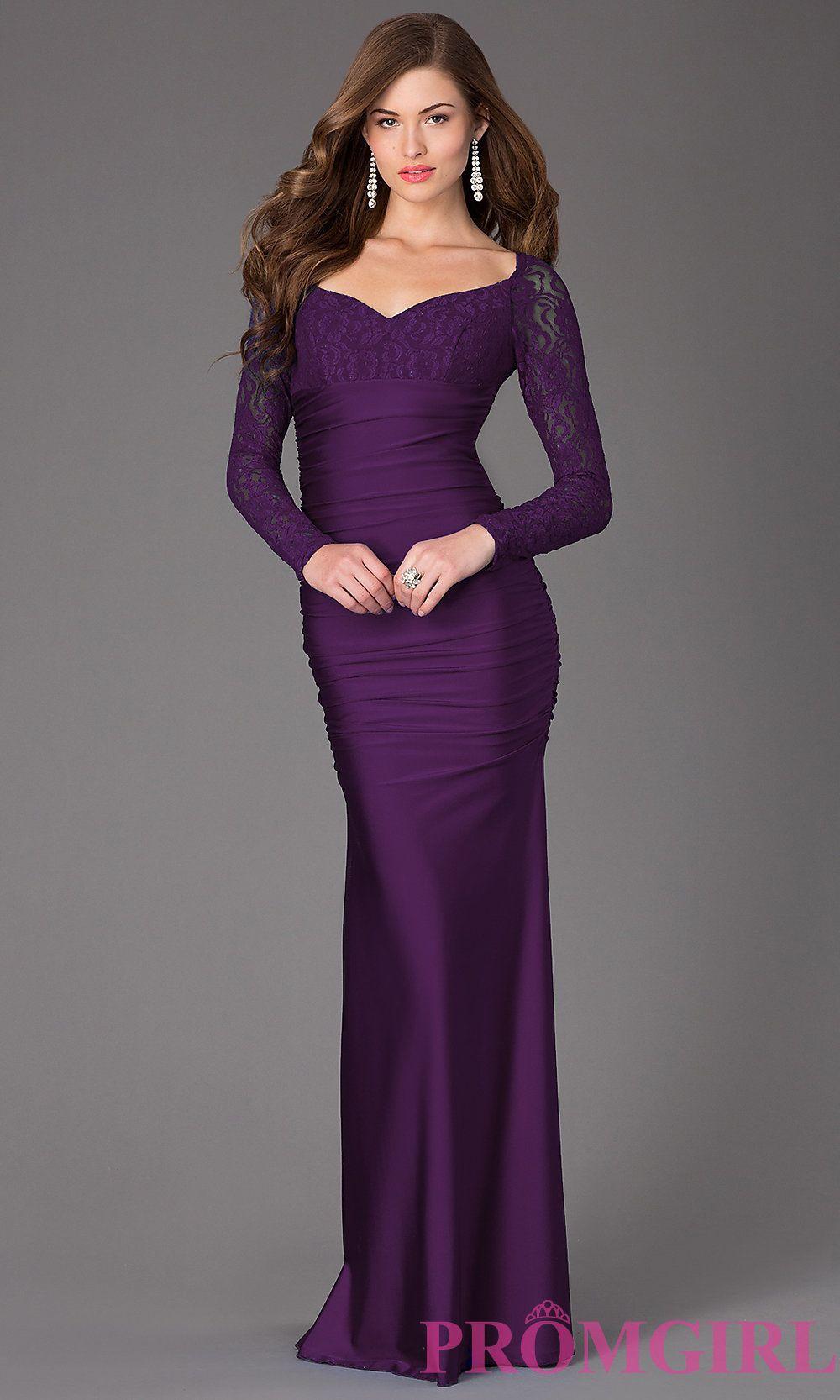 Long Prom Dress Detail Image 3 | grad gowns | Pinterest