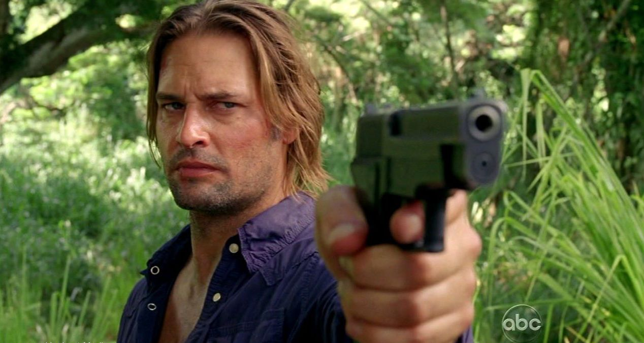 """Josh Holloway as Lost's James """"Sawyer"""" Ford. All the best cowboys have daddy issues."""