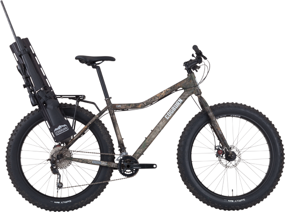 This is the CB4. CB4 is a fatbike, a human powered all-terrain ...