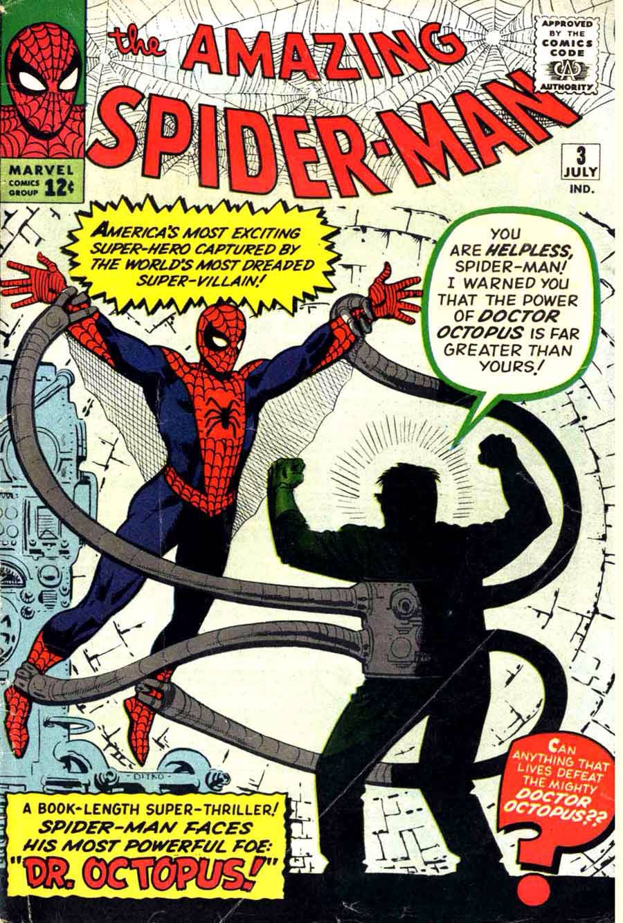 The Amazing Spider-Man #3 July 1963 Marvel Comics