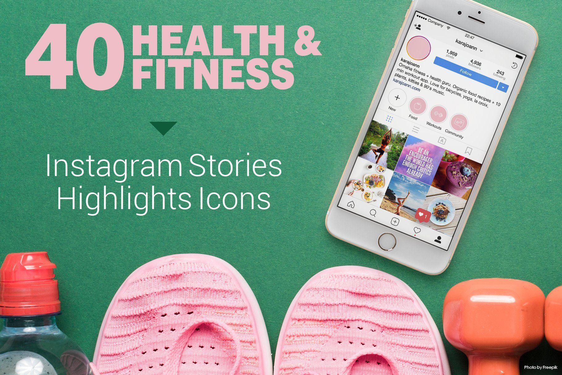 SALE Health & Fitness Insta Stories Fitness instagram