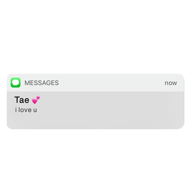 Do Not Copy Or Steal Do Not Make It Yours Tae Kpop Imessage Notification Iphone Bts N Iphone Texts Instagram Frame Template Powerpoint Background Design