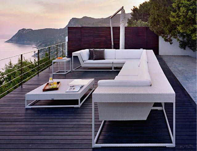 Modern rooftop terrace pool design ideas 1 outdoor for Rooftop pool design