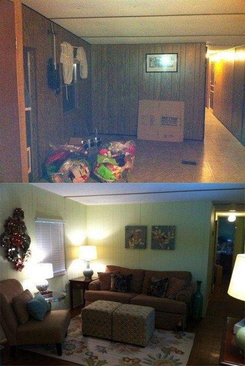 + 27 Mobile Home Living Room Ideas Single Wide 58 ...
