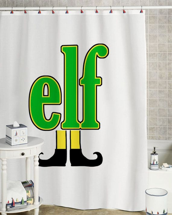 Elf Shower Curtain Custom Showercurtain By 51151curtain On Etsy