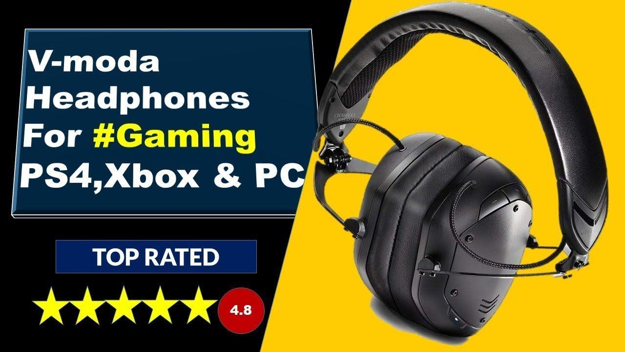 V Moda Headphones For Gaming Ps4 Xbox Pc Headset Vmoda Bluetooth Headphones Wireless Gaming Xbox Pc Headphones Ps4 Games