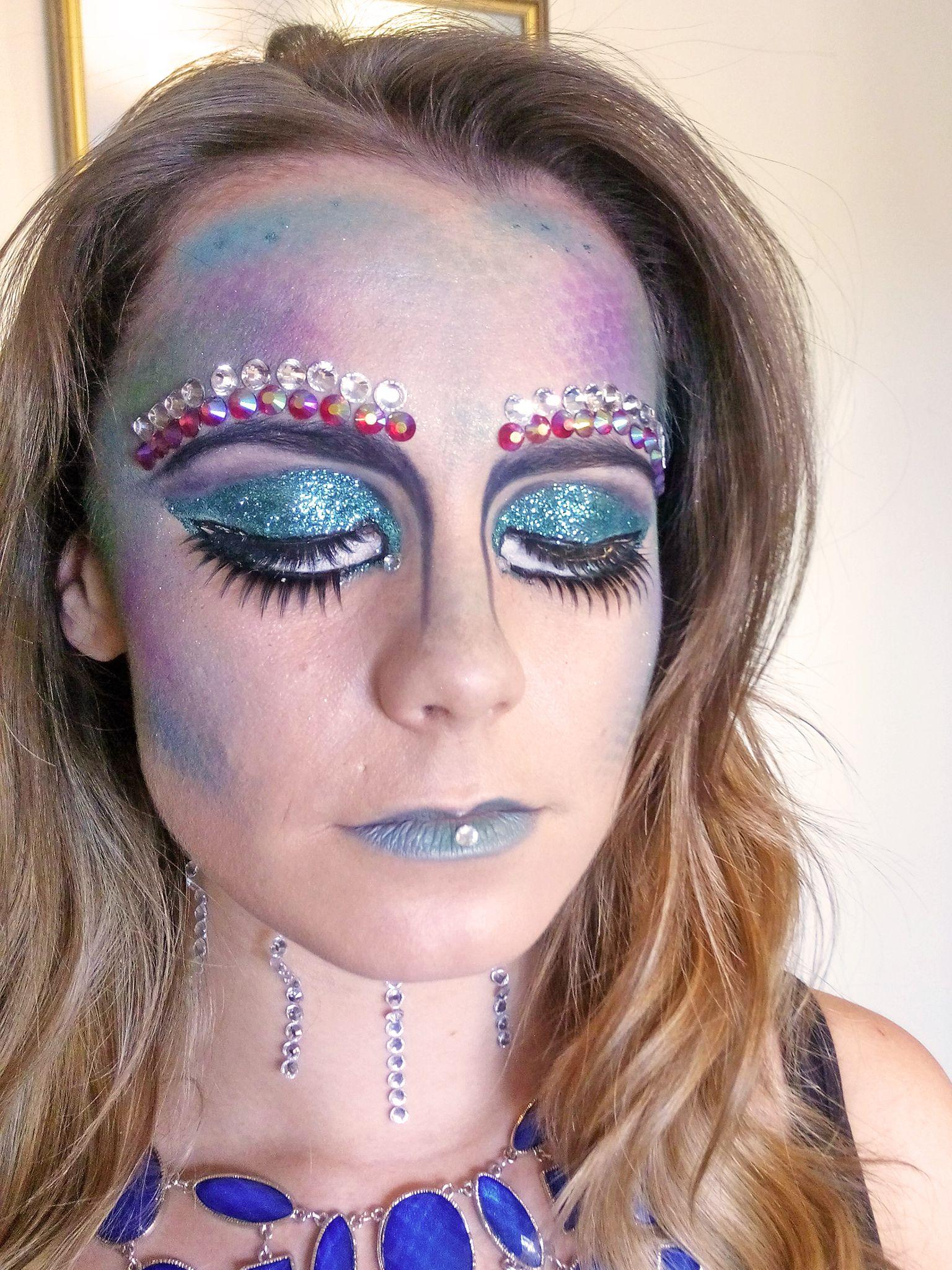Chantal shows off Ruby's final eye makeup Special Occasion Makeup, Makeup Class, Makeup Designs