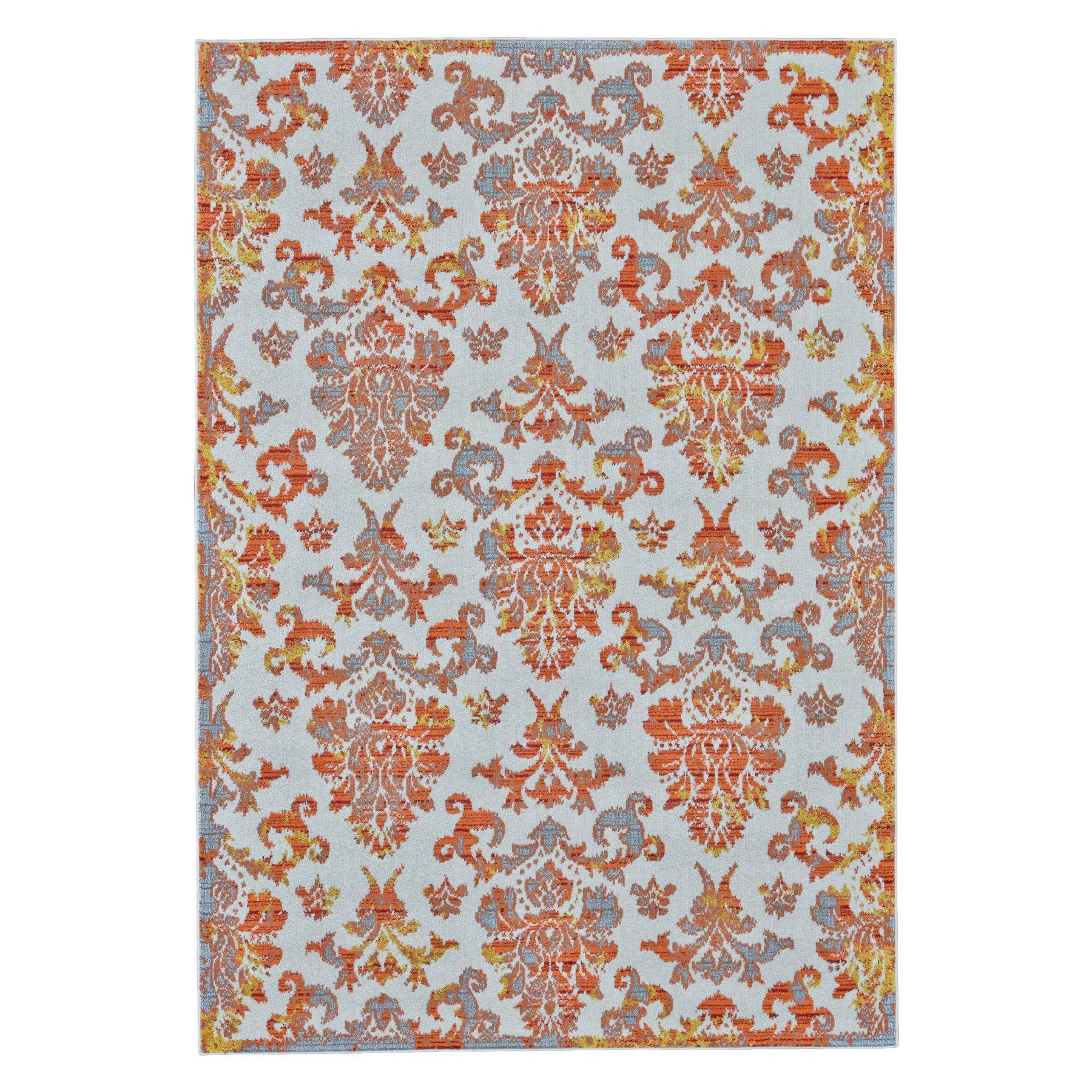 Outdoor Teppich Qvc Room Envy Undira Indoor Rug Apricot 712r3423apr000a22