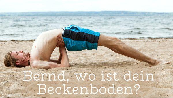 beckenmuskulatur trainieren mann