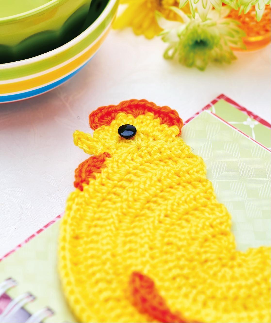 Chicken Coaster Crochet Pattern String Theorycrochet Pinterest
