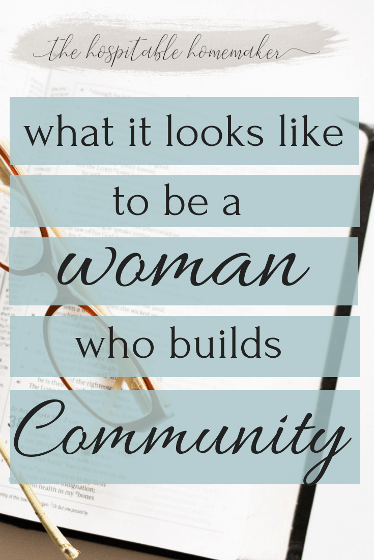 Building Community as a Woman - Description of the Tribe Builder