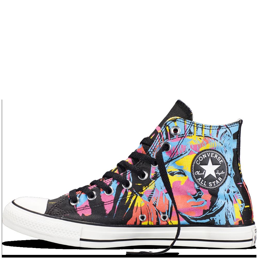 Chuck Taylor All Star Andy Warhol Black | Converse en 2019