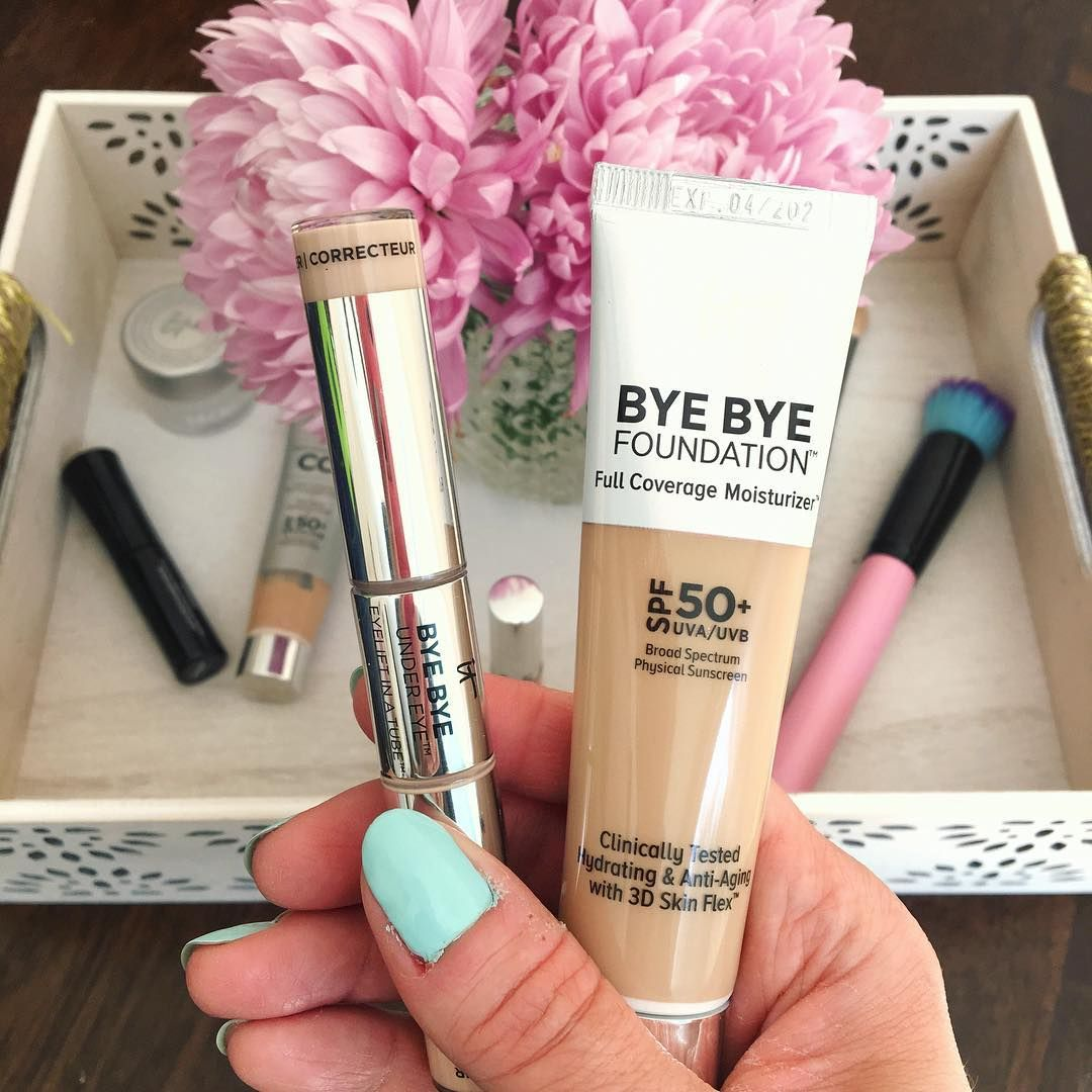 It Cosmetics Bye Bye Foundation and Eye Lift in a tube