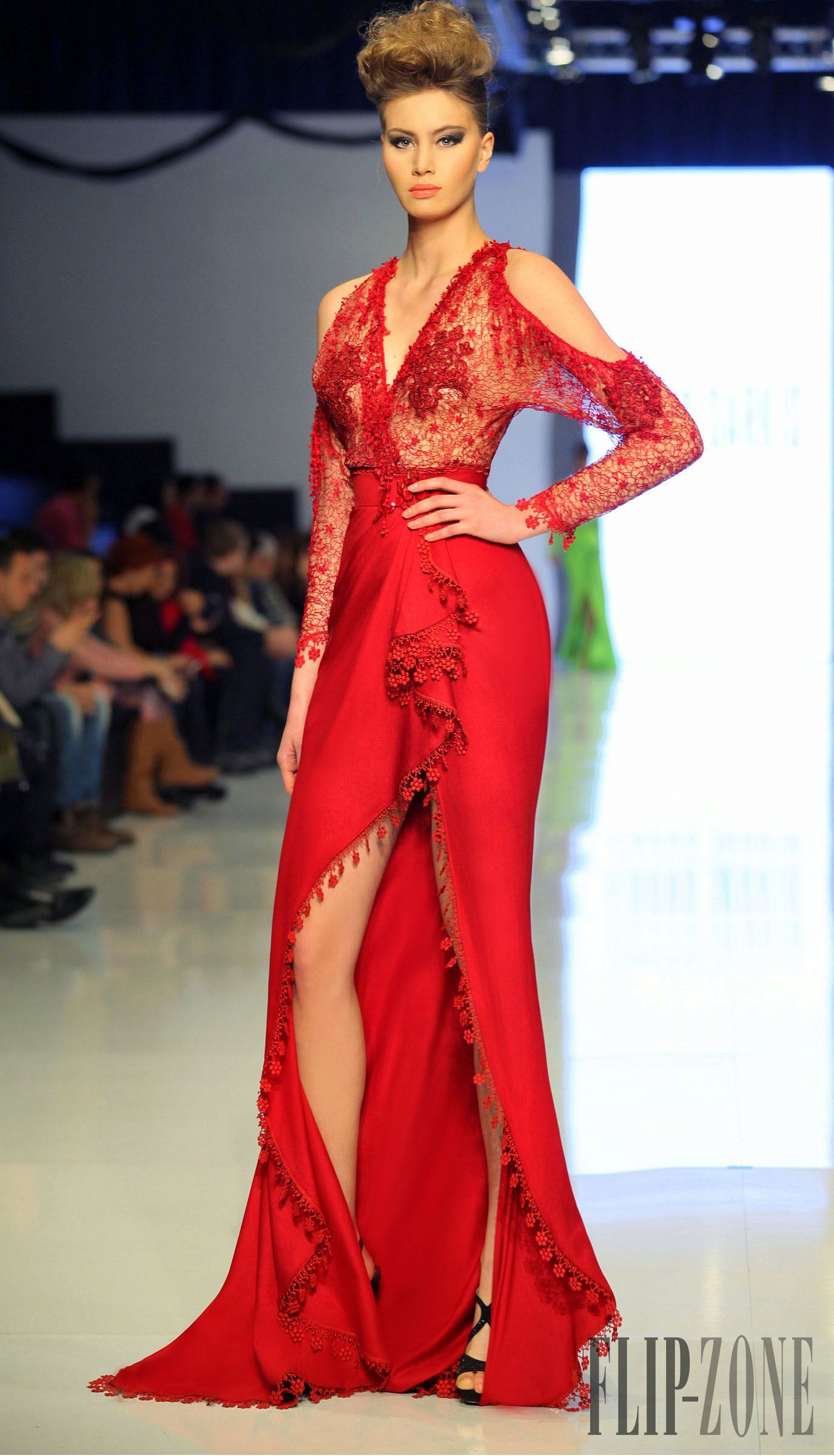 Robe soiree haute couture 2014