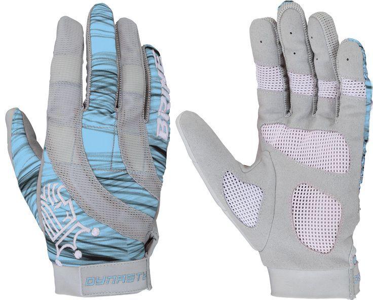 Brine womens dynasty lacrosse gloves blue lacrosse
