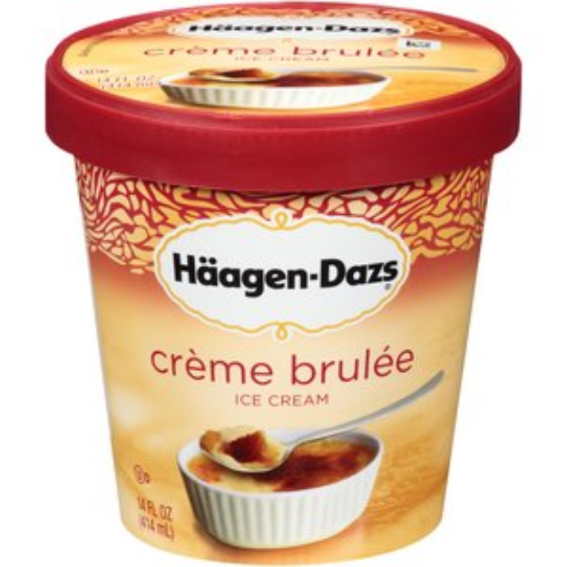 i m learning all about haagen dazs ice cream all natural creme brulee at influenster creme brulee ice cream haagen dazs ice cream creme brulee pinterest